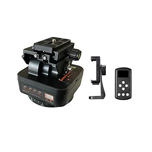 ZTFON YT-1000 Auto Motorized Rotating Panoramic Head Remote Control Pan Tilt Video Tripod Head Stabilizer for Smartphone Cameras