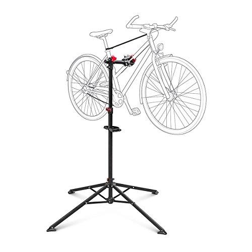 Relaxdays Pied de réparation vélo hauteur réglable pivotant entretien bicyclette atelier...