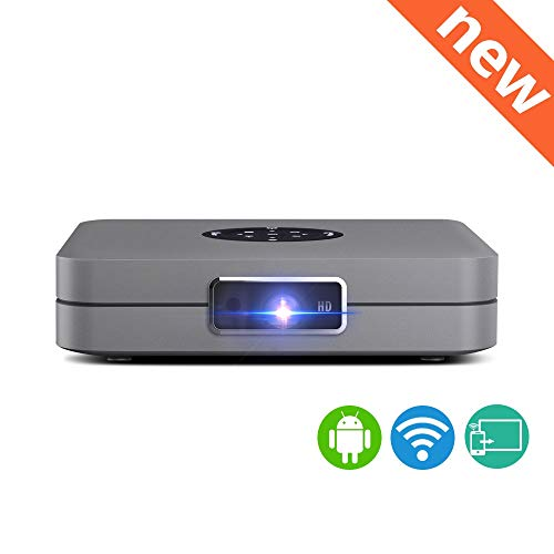 TRPYA Smart Wi-Fi draagbare mini-led-DLP-projector voor iPhone iPad smartphone 300 inch Home Theater