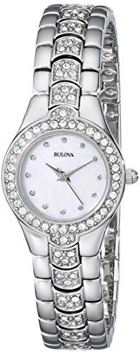 bulova women crystal watch - 7