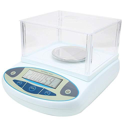 Oumefar Hochpräzises Labor mit hoher Kalibrierung Analytische Waage 100-240 V für Labor zum Wiegen(European regulations)