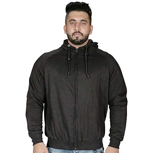 ChoCho Track Motorcycle CE Armored Motorbike Hoodie Protective Fleece Zip up Jacket Lined Black Gray (Large, Gray)