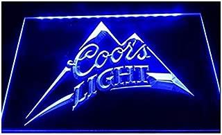 Lamazo Coors Light Beer Pub Bar Led Light Sign