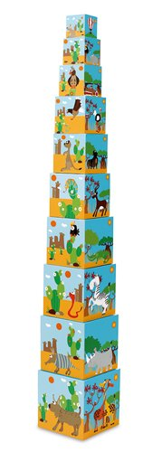 Scratch Pyramide empilable Multicolore 6181096