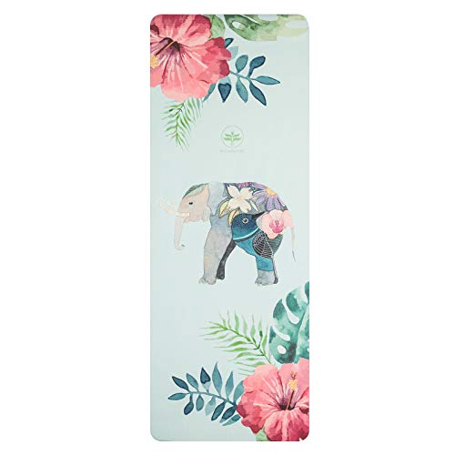 N / A Travel Yoga Mat Pad Ultraleichtes Gummi Thermo Kunststoff Elastome Gym Fitness Pilates Decken Yoga Handtuch 183cm * 68cm