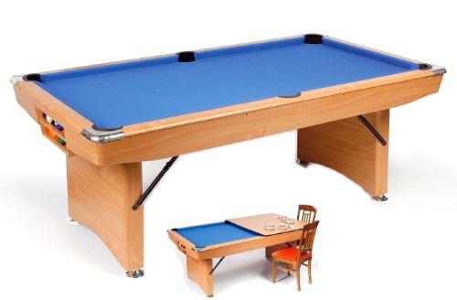 Pool Billardtisch London 6,5 ft. Mit Zubehör. Sofort spielbar.