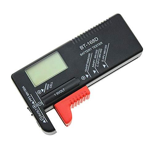 IWILCS Batterietester Batterietester Digital Batterietester Digital Für AA Digitaler Batterie Testgerät Messgerät Batterieprüfergerät für Hausgebrauch