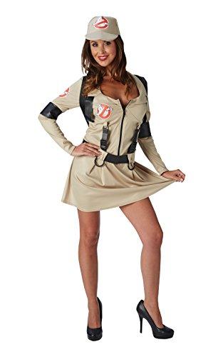 Rubies Ghostbusters pour Femme Déguisement Halloween années 80 pour Femme Adulte 80S Costume