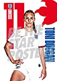 Be The Star Posters Football Póster de fútbol, Mujer, Delete, A3