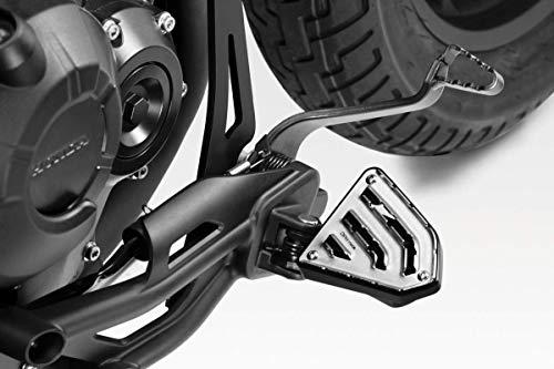 CMX500 / CMX300 Rebel 2017/20 - Kit Fussrasten Fahren 'Wild' (S-0797) - Fußrasten Fußstützen Fussstützen Rutschfest - Motorradzubehör De Pretto Moto (DPM Race) - 100% Made in Italy