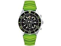Chris Benz Uhr Taucheruhr Depthmeter Chronograph CB-C300-G-KBG