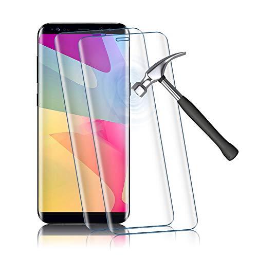 Agedate Panzerglas Schutzfolie (für Samsung Galaxy S8)
