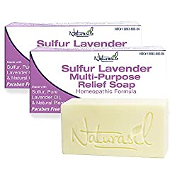 Naturasil Premium Medicated Sulfur-Lavender Soap