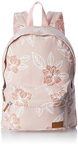 Roxy Junior's Sugar Baby Canvas Backpack, Silver Pink Philly, 1SZ