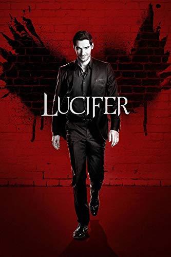 24inch x 36inch/60cm x 90cm Lucifer Season 1 Silk Poster