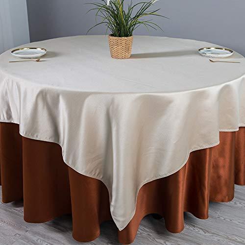 PhantasyIsland.com Mantel a Cuadros navideños, Fiesta de Año Nuevo Fiesta Inicio Decoración Diaria Diseño Cena Mesa Cubierta 360CM