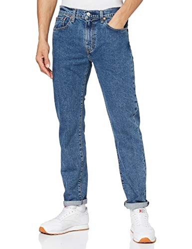 Levi's 502 Taper Jeans, Stonewash Stretch T2, 32W / 30L Uomo