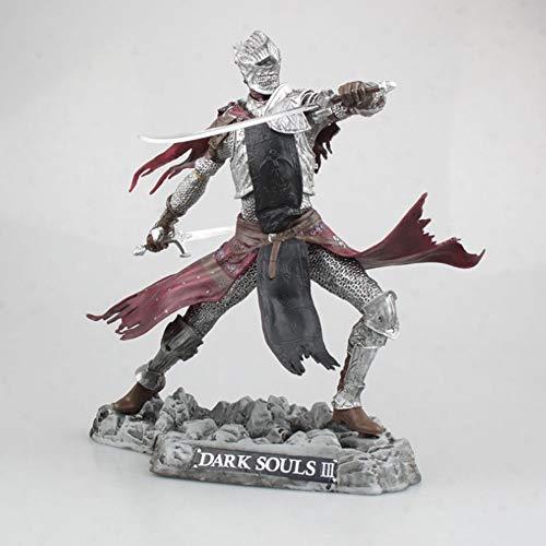 Yifuty PS4 Dark Souls 3 Collector's Edition Red Knight Statue Statue Modelo en Caja Figura Colección Toys Satique Souvenir Vacaciones Regalo Altura 250mm