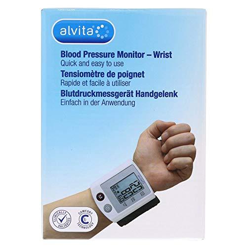 ALVITA Blutdruckmessgerät Handgelenk 1 St