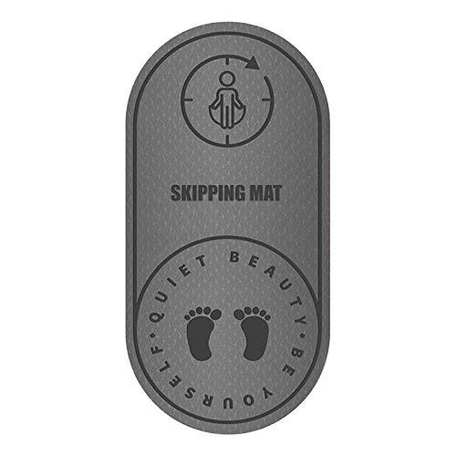 Seilsprungmatte Yogamatte rutschfest Springmatte stumm geräuschdichte Matte 8MM Dicke Sportmatte Anti-Noise-Matte Fitnessmatte Mat Rope Skipping Mat Silent Noise Bodenmatte Haushaltsseil Skipping Mat