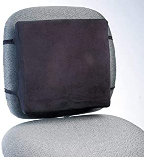 Rubbermaid Commercial Back Perch W/Fleece Cover, 13W X 2-3/4D X 12-1/2H, Black, 10/Carton