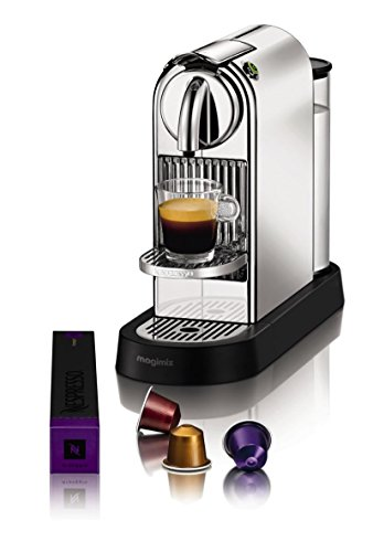 MAGIMIX - Nespresso CitiZ-19 bars-1260 W-Dosage auto au volume de la tasse-Chrome - MAGIMIX - FDS-120361