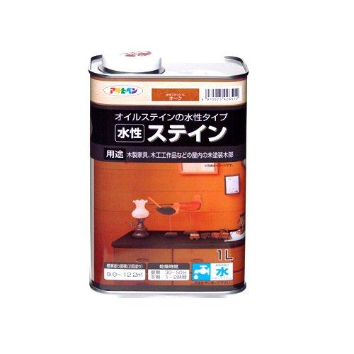 アサヒペン(Asahipen) 水性ステイン オーク 1L