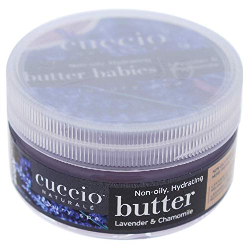Cuccio Naturalé Butter Blend Lavender & Chamomile - Non-Greasy Lotion for Hand, Body & Feet - Calming & Relaxing - Paraben & Cruelty Free, with Natural Ingredients & Plant Based Preservatives - 8 oz.