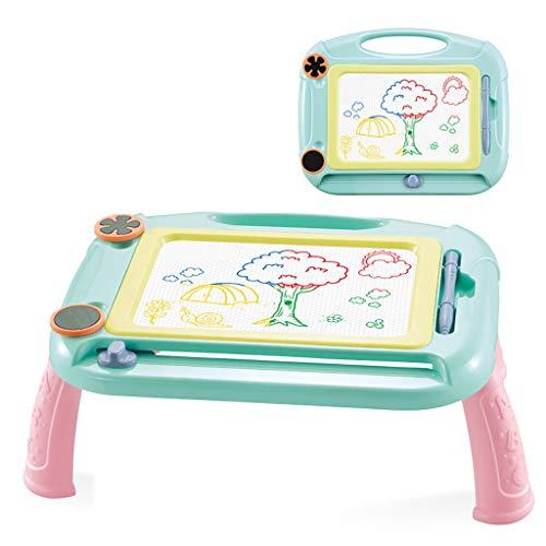 LianMengMVP Magnetische Maltafel Zaubertafeln, Tragbar Magnettafel Zaubermaltafel Zeichenbrett Löschbar Gekritzel Skizze Kindergeschenk für 3 4 5 Jahre alt