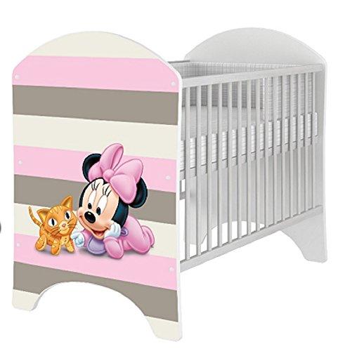 hogartrend Preciosa Cuna Disney Mickey Mouse, Bambi, Winnie DE Pooh (Mickey Bebe 1)
