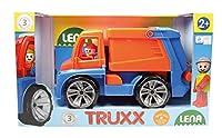 Lena 04416 - Truxx Müllwagen, ca. 29 cm und Spielfigur