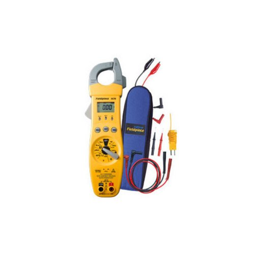 Fieldpiece SC76 Clamp Meter with Temperature and Capacitance