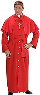 Cardinal Chapeau en velours rouge accessoire pour le père Pape Vicaire Fancy Dress