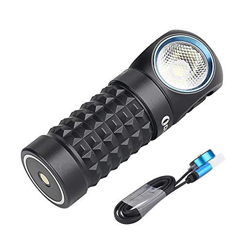 Olight Perun Mini Linterna Frontal LED con 1000 Lúmenes, Alcance a 100 m,IPX8 Impermeable, Recargable Linterna Frontal Pequeña para Niños,Trabajo al Aire Libre y Vida Cotidiana