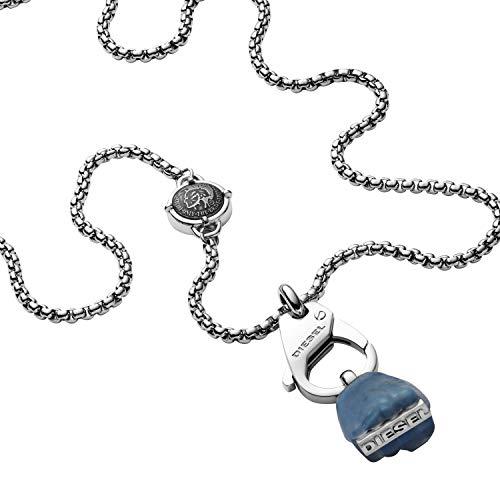 Diesel Collar con colgante Hombre acero inoxidable - DX1178040