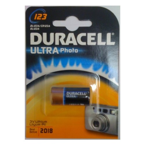 Duracell Batterie Duracell Ultra Photo Lithium 123 (CR17345) 1St.