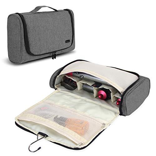 Teamoy Borsa da Viaggio Portatile per Dyson Airwrap Styler e Accessori, Grigio