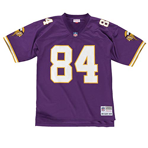 Mitchell & Ness Minnesota Vikings Randy Moss #84 Legacy Jersey, Purple, X-Large