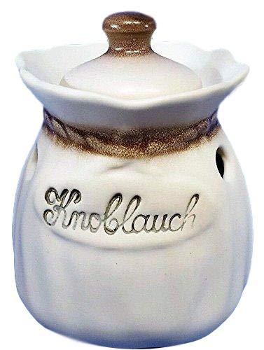Knoblauchtopf Knoblauchsack Keramik Zimmermann Deutsches Premiumprodukt