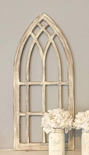 Farmhouse arched window frame