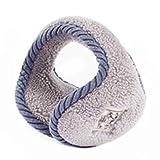 orejera ZXM Hombres Y Mujeres Otoño E Invierno Calentador De Oídos Protección Anticongelante para Los Oídos Cálido Y Grueso Plegable Fácil De Llevar(Color:Gris)