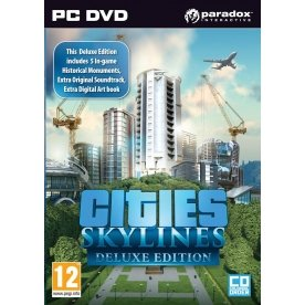 Cities Skylines Deluxe Edition (PC DVD) (輸入版)