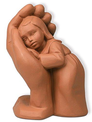 Christliche Geschenkideen °° Original Steigerwald-Figur Bleib Sein Kind tonfarben
