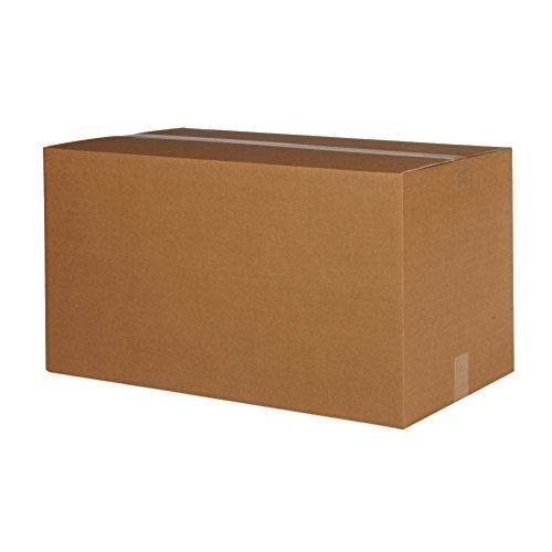 5 Faltkartons 1200 x 600 x 600mm, Verpackung Versand Schachtel aus Wellpappe Karton Kiste Postversand