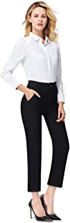 Dress Pants for Women Stretch Pull-on Pants Ease into...