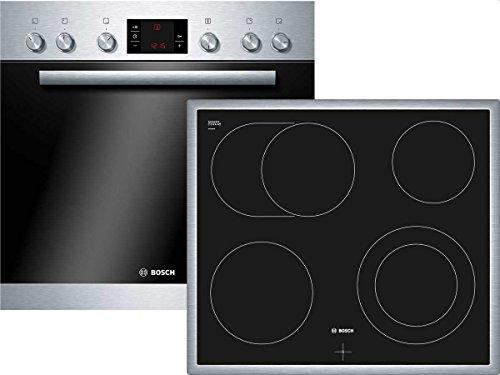 Bosch HND72PS50 Backofen-Kochfeld-Kombination / A / 63 L / 3D Heißluft Plus / 1 Zweikreis-Kochzone / Edelstahl