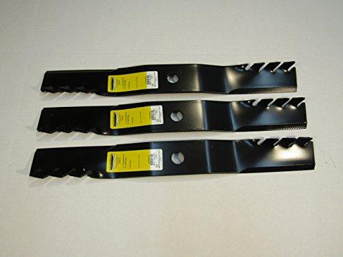 "By ProPartsPlace 3 Predator USA Mulching Blades 60"" KUBOTA K5371-34330 RCK60B-23BX BX24 7/8"" Cent"