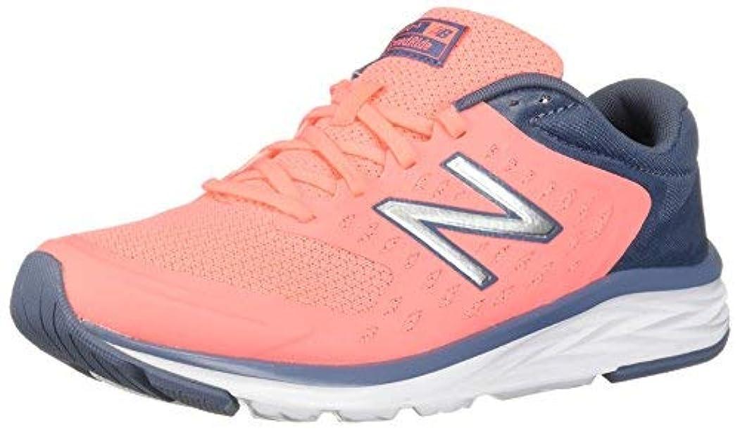 奨学金どっちでも藤色New Balance Women's 490v5 Running Shoe Deep Porcelain Blue 12.5 D US [並行輸入品]