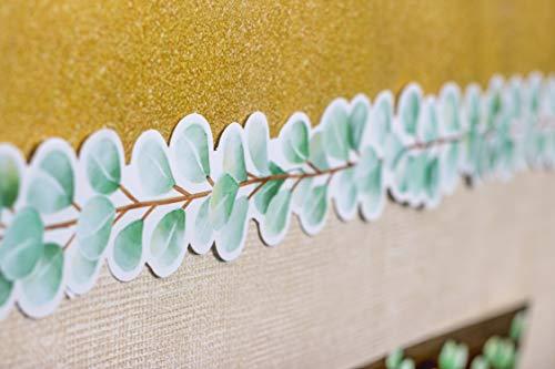 Eucalyptus Die-Cut Border Trim |