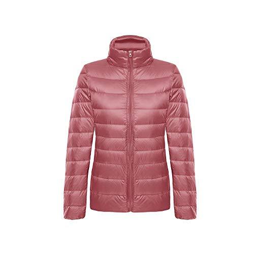 XFX1990 5XL 6XL Größe Winter weiblich Ultra leichte Entendaunen Langarm Mantel warm warm Hecht Mantel weiblich Herbst Mantel - Puder_S